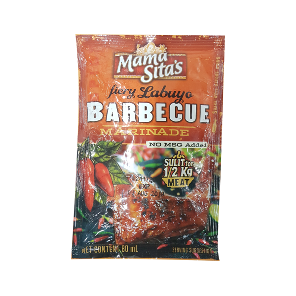 MAMA SITA'S FIERY LABUYO BARBEQUE MARINADE 80ML