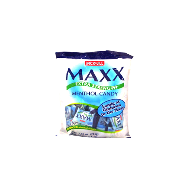 MAXX EXTRA STRENGTH MENTHOL CANDY 4.3GX50S