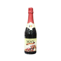 MAY SPARKLING RED GRAPE JUICE 750ML