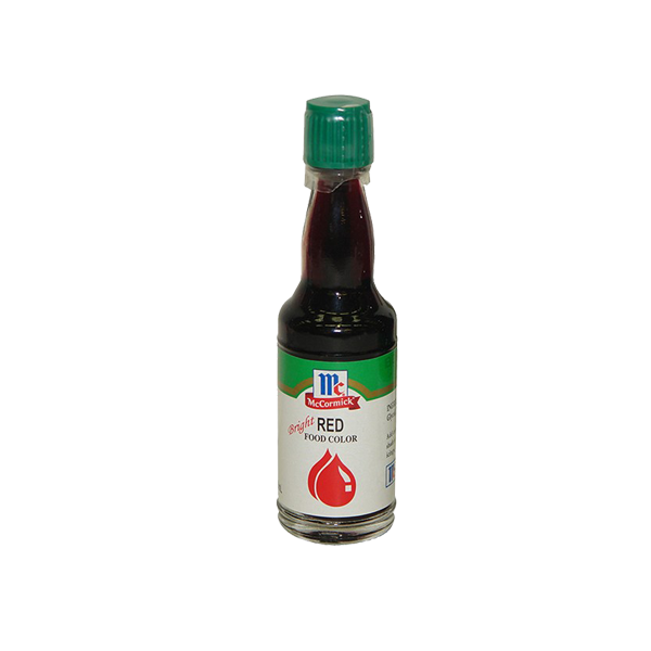 MCCORMICK FOOD COLOR RED 20ML