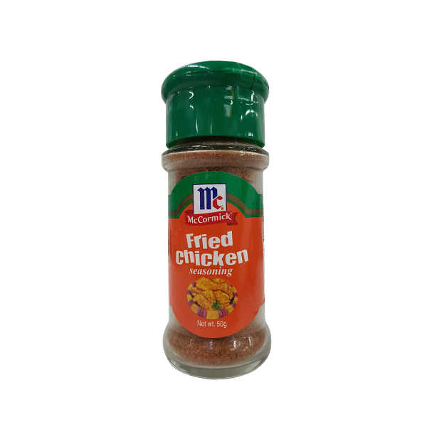MCCORMICK FRIED CHICKEN SAESONINGS BOTTLE 50G