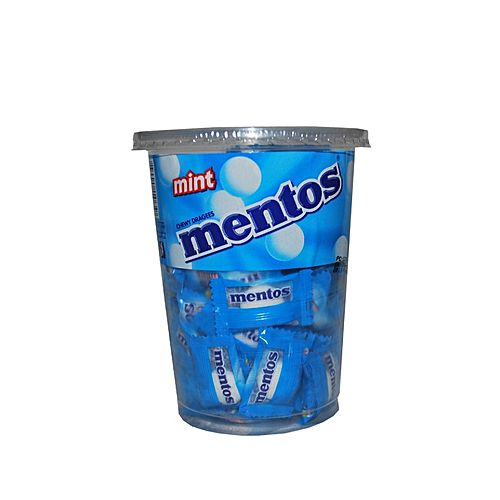 MENTOS MINT CHEWY CANDY 100S CUP