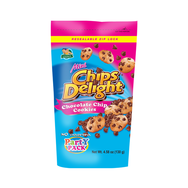 MINI CHIPS DELIGHT CHOCOLATE CHIP COOKIES 130G
