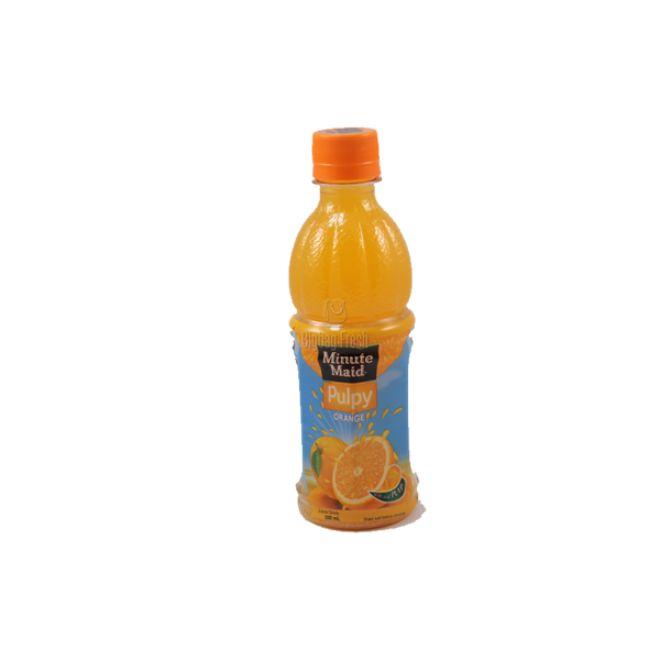 MINUTE MAID PULPLY ORANGE DRINK 330ML