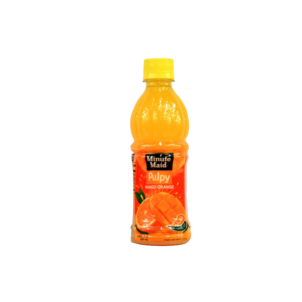 MINUTE MAID PULPY MANGO ORANGE 330ML