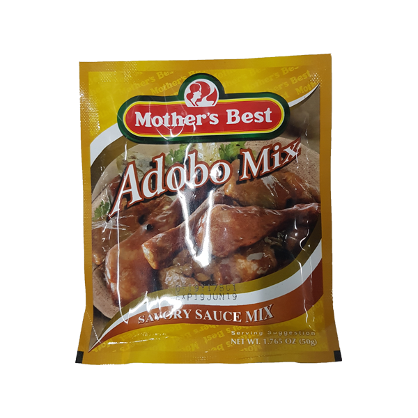 MOTHER'S BEST ADOBO MIX SAVORY SAUCE 50G