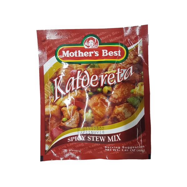 MOTHER'S BEST STEW MIX SPICY KALDERETA 40G