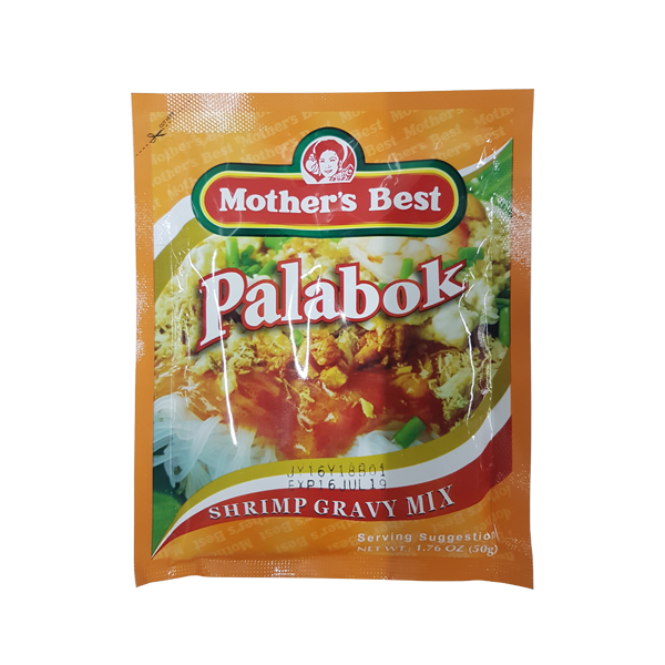 MOTHER'S BEST PALABOK SHRIMP GRAVY MIX 50G