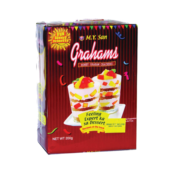 M.Y.SAN GRAHAMS HONEY GRAHAM 200G