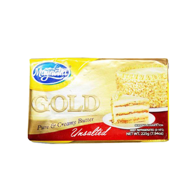 MAGNOLIA GOLD BUTTER UNSALTED 225G