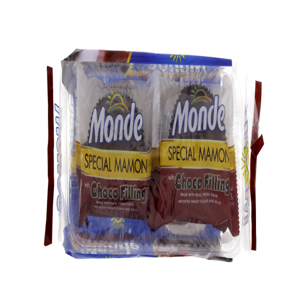 MONDE SPECIAL MAMON WITH CHOCO FILLING 48GX4S