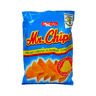 MR CHIPS NACHO CHEESE 105G