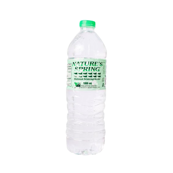NATURES SPRING DISTILLED DRINKING WATER 1L