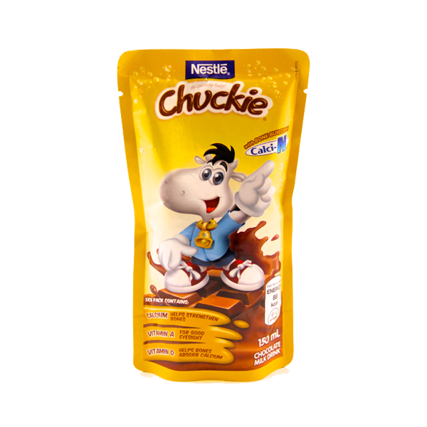 NESTLE CHUCKIE CALCI-N CHOCOLATE MILK DRINK 150ML