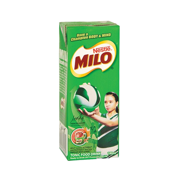 NESTLE MILO READY TO DRINK  180ML