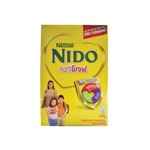 NIDO FORTIGROW FORTIFIED POWDERED MILK DRINK 700G
