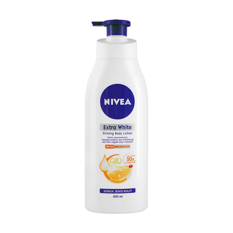 NIVEA BODY EXTRA WHITE FIRMING LOTION 400ML