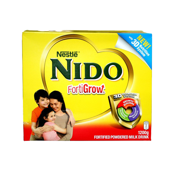 NIDO FORTIGROW FORTIFIED POWDERED MILK DRINK 1200G