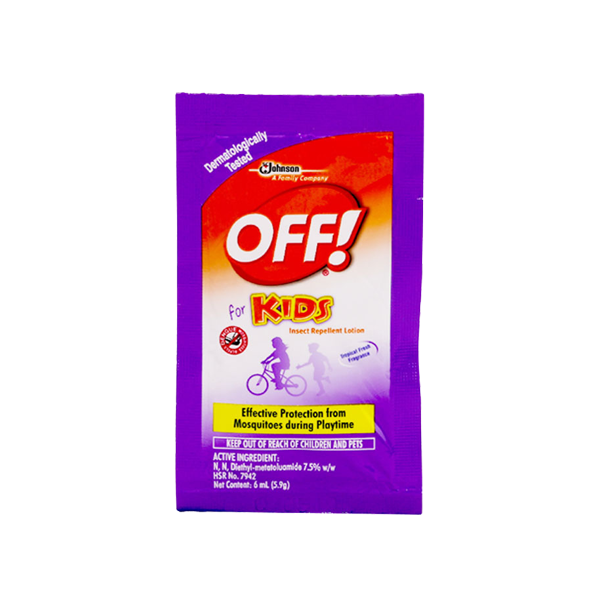 OFF FOR KIDS INSECT REPELLENT LOTION 6ML
