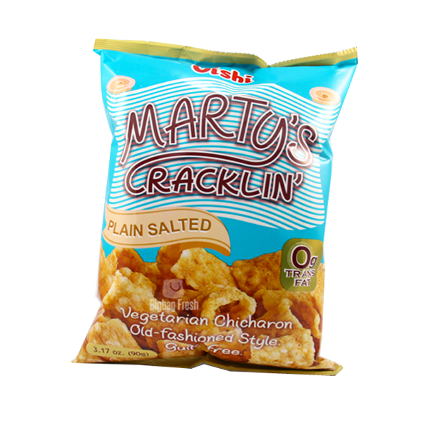 OISHI MARTY'S CRACKLING PLAIN SALTED 26G