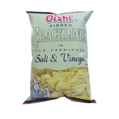OISHI CRACKLING SALT & VINEGAR 95G