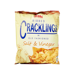 OISHI CRACKLING SALT & VINEGAR 50G