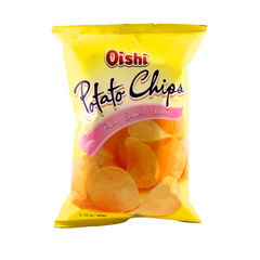 OISHI POTATO CHIPS PLAIN SALTED 60G