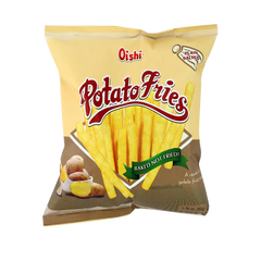 OISHI POTATO FRIES PLAIN SALTED 50G