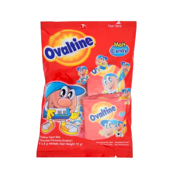 OVALTINE TABLET MALT CHOCOLATE FLAVOR 8GX10S