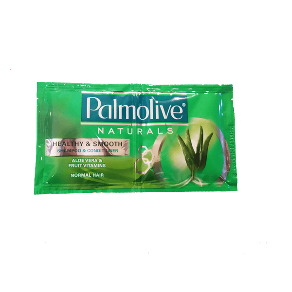 PALMOLIVE NATURALS SHAMPOO HEALTHY & SMOOTH GREEN DUAL 13MLX6