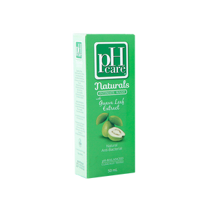 PH CARE NATURALS INTIMATE WASH WITH GUAVA LEAF EXTRACT 50ML