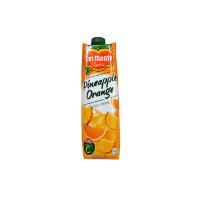 DEL MONTE PINEAPPLE ORANGE 100% VITAMIN C JUICE DRINK 1L