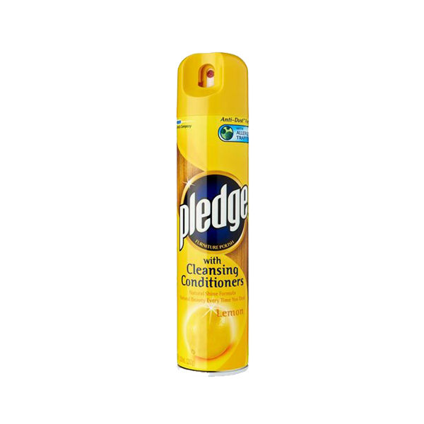 PLEDGE NATURAL SHINE LEMON 330ML