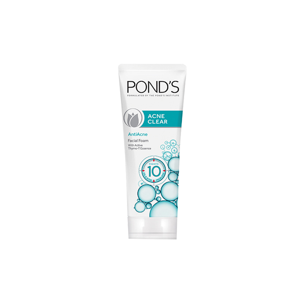 PONDS ACNE CLEAR FACIAL FOAM 50G
