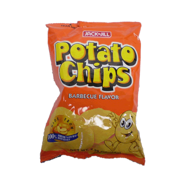 POTATO CHIPS BBQ 65G