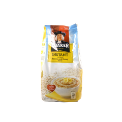 QUAKER INSTANT OATMEAL BANANA AND HONEY FLAVOR 600G
