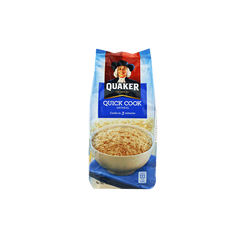QUAKER QUICKCOOK OATMEAL 3MIN COOK 400G