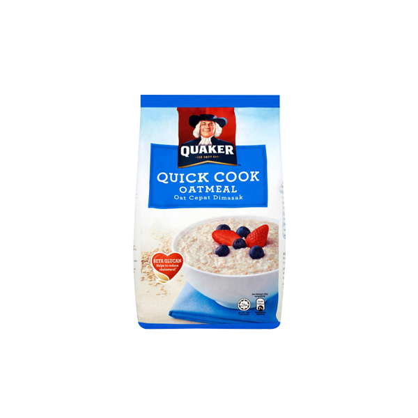 QUAKER QUICK COOKING OATMEAL 800G