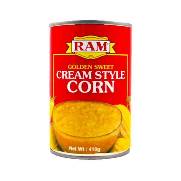 RAM GOLDEN SWEET CREAM STYLE CORN 410G