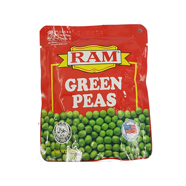 RAM GREEN PEAS STAND-UP POUCH 100G
