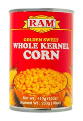 RAM WHOLE KERNEL CORN 410G