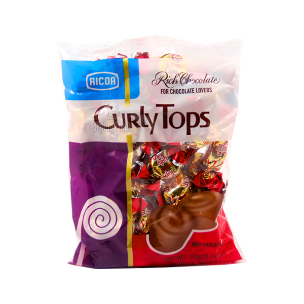 RICOA CURLY TOPS 150G