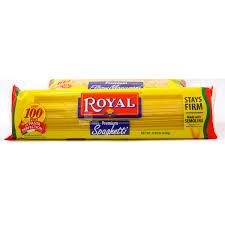 ROYAL PASTA SPAGHETTI LONG 450G