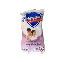 SAFEGUARD BAR SOAP IVORY WHITE CARE 60G
