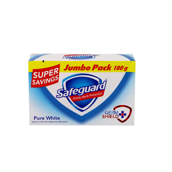 SAFEGUARD HBCL BAR WHITE ULTRA 180G
