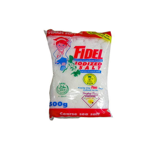 FIDEL IODIZED SALT 250G