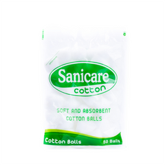 SANICARE COTTON BALLS 50S