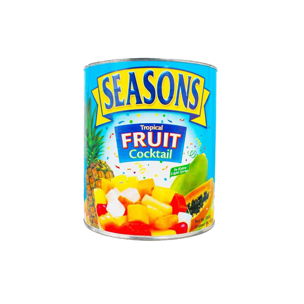 SEASONS FRUIT MIX IN HEAVY SYRUP 3.06KG #10