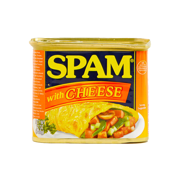 SPAM LUNCHEON MEAT W/ CHEESE 340G (12OZ)