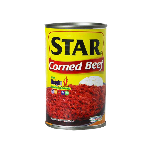STAR CORNED BEEF EASY OPEN CAN 150G